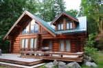 Log Home Cleaning & Staining