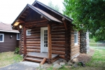 Refinished Vintage Log Home